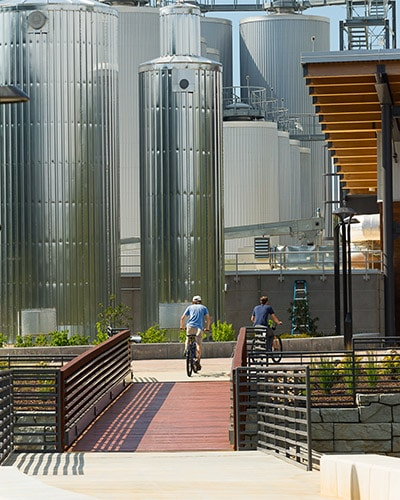 New Belgium Brewing Co. Brewery and Liquid Center