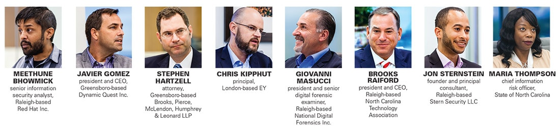 Cyber Round Table panel