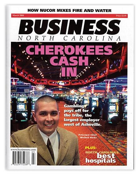 Cherokee Casino cover