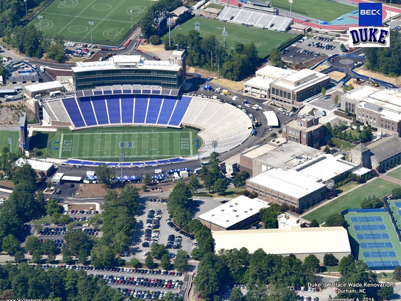 ENTERTAINMENT/SPORTS PROJECT: Brooks Field at Wallace Wade Stadium, Duke University, Durham