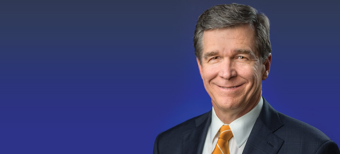 Gov  Roy Cooper shows workhorse style in promoting North Carolina
