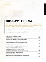 2018 Law Journal