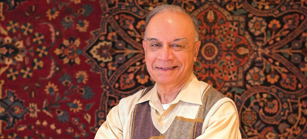 Zaki Khalifa Donates His Oriental Rug Fortune To Pakistani