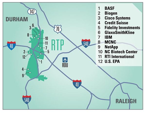 RTP map
