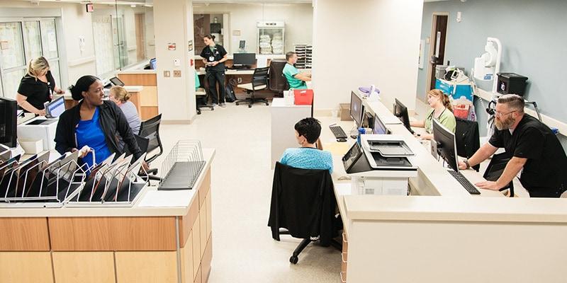 Frye regional Medical Emergency staff