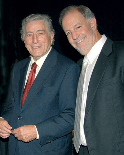Tony Bennett and Larry Farber