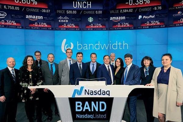 Bandwidth IPO