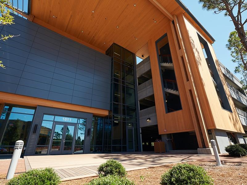 FitPark at Live Oak Bank Campus. Wilmington
