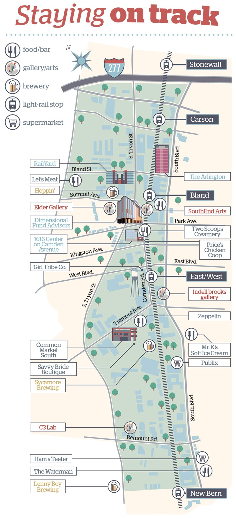 South End map (2019)
