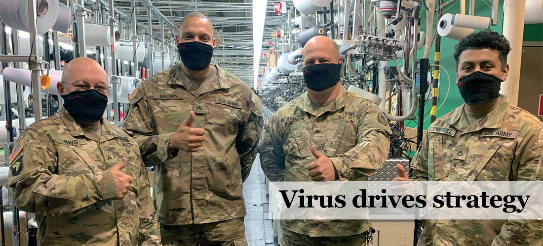 Virus Drives Strategy