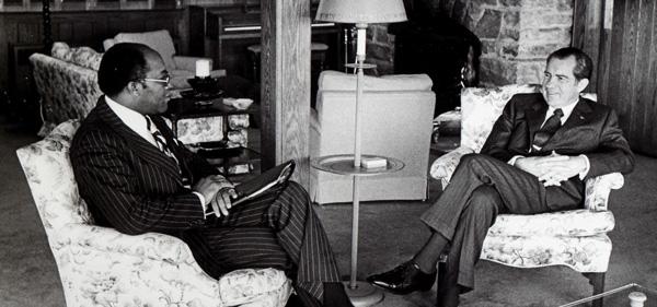 Robert Brown, Richard Nixon