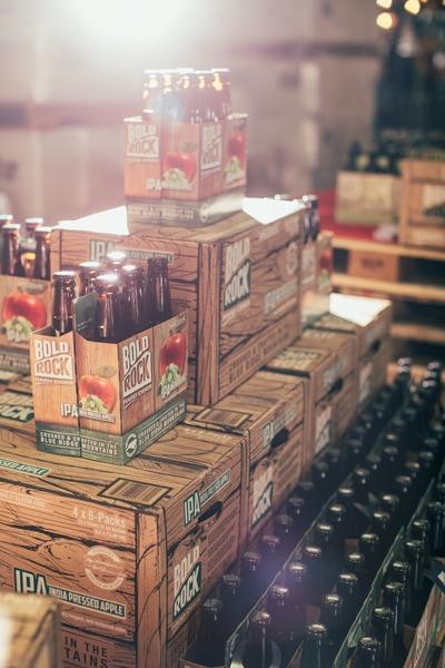 Bold Rock Hard Cider in Mills River