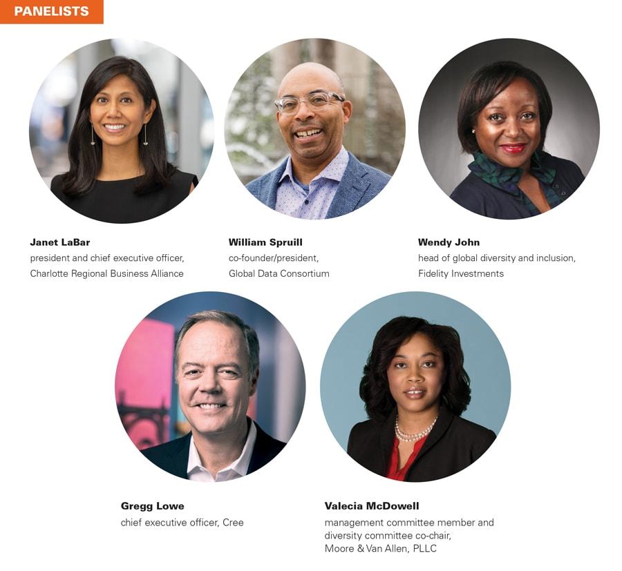Diversity Round Table Panelists